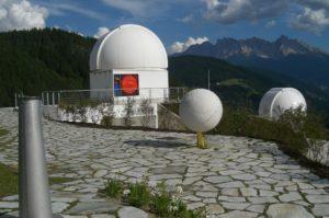 Beste Aussicht bei der Sternwarte in Gummer