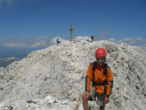 Kesselkogel in den Dolomiten