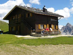 Stevia Hütte bei Wolkenstein in Gröde