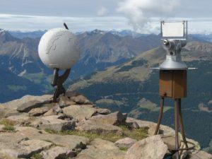 Am Gipfel des Villanderer Berges 2509 m