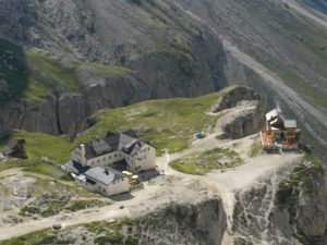 Vajolethütte u. Preuss Hütte Nähe Gardeccia